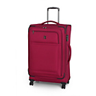 more details on IT Luggage Luxlite Large 8 Wheel Expandable Suitcase - Red.