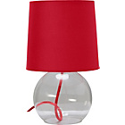 more details on ColourMatch Flexi Glass Lamp - Poppy Red.
