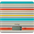 more details on ColourMatch Square Digital Kitchen Scale - Stripes.