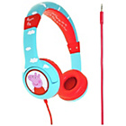 more details on Peppa Pig Junior Headphones Clouds/Peppa - Blue.