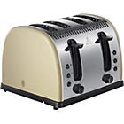 more details on Russell Hobbs 4 Slice Toaster - Cream.