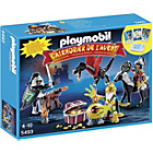 more details on Playmobil Advent Calendar Dragons Treasure Battle 5493.