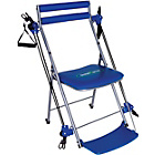 more details on High Street TV Chair Gym Fitness System - Blue.