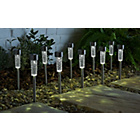 more details on Solar Long Lens Decorative Outdoor Light - Set of 10.