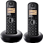 more details on Panasonic KX-TGB212EB Cordless Telephone - Twin.