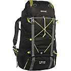 more details on Regatta Blackfell 75L Expandable Backpack - Black.