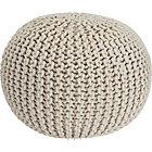 more details on Heart of House Cotton Knitted Pod - Natural.