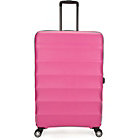 more details on Antler Juno Large 4 Wheel Suitcase - Pink.