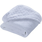 more details on Clair de Lune Marshmallow Hooded Towel - White.