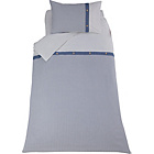 more details on Heart of House Sebastian Blue Bedding Set - Single.