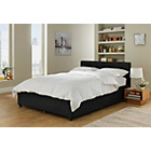 more details on Hygena Sheridan Small Double Ottoman Bed Frame - Black.