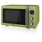more details on Swan SM22030 20 Litre 800W Manual Microwave - Green.