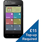 more details on O2 Huawei Y550 4G Mobile Phone - Black.