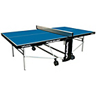 more details on Butterfly Deluxe Indoor Rollaway Table Tennis Table - Blue