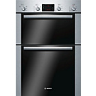 more details on Bosch HBM43B250B Double Electric Oven - Stainless Steel.