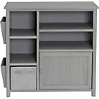 more details on Slimline Unit with Jutebox - Light Grey.