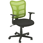 more details on Gas Lift Mesh Office Chair - Green.