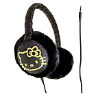 more details on Hello Kitty Earmuff Kitty Quilt - Black.