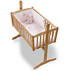 more details on Clair de Lune Stardust 2 Piece Crib Set - Pink.
