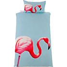 more details on Flamingo Bedding Set - Single.