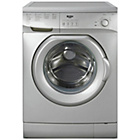 more details on Bush F841QS 8KG 1400 Spin Washing Machine - Silver/Exp.Del.