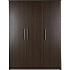 more details on Normandy 3 Door Large Wardrobe - Wenge Effect.