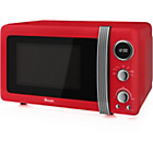 more details on Swan SM22030 20 Litre 800W Manual Microwave - Red.