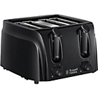 more details on Russell Hobbs 4 Slice Toaster - Black.