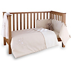 more details on Clair de Lune Stardust 3 Piece Cot/Cot Bed Set - Cream.
