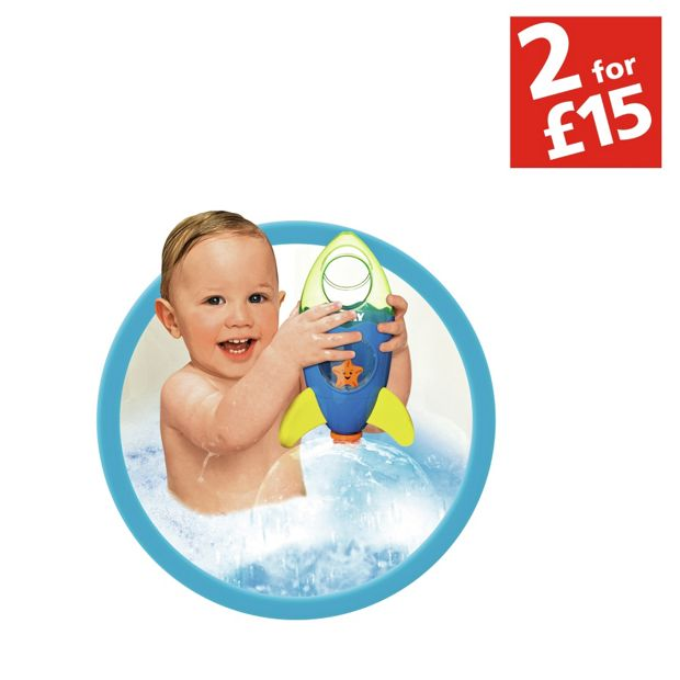 Buy Tomy Fountain Rocket Bath Toy At Argos Co Uk Your