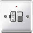 more details on Masterplug 13A Fused Connection Unit - Polished Chrome.