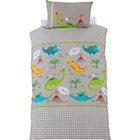 more details on Chad Valley Dino Duvet Bedding Set - Single.