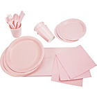 more details on Solid Colours Party Kit - Pale Pink.