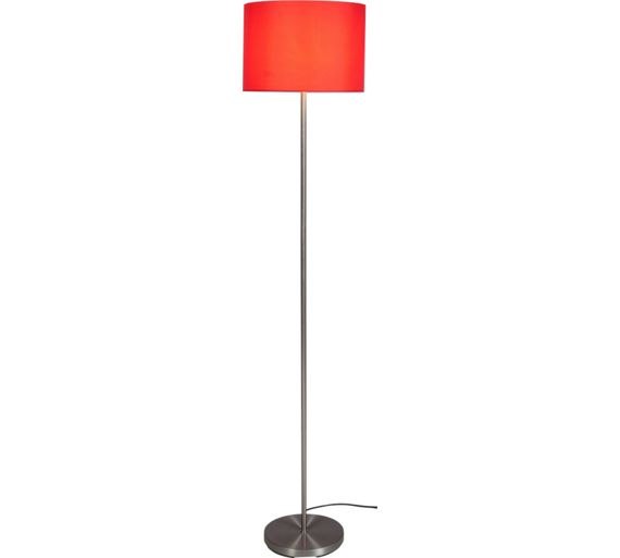 Red Chandelier Argos: Buy ColourMatch Satin Stick Floor Lamp