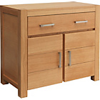 more details on Heart of House Alston 2 Door Sideboard - Oak & Oak Veneer.