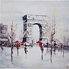 more details on Heart of House Painted Parisian Archway Canvas.