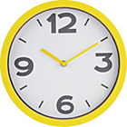 more details on ColourMatch Sunshine Yellow Cased Wall Clock.