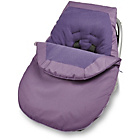 more details on Clair de Lune Car Seat Footmuff - Plum.