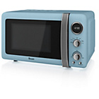 more details on Swan SM22030 20 Litre 800W Manual Microwave - Blue.