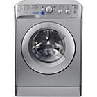more details on Indesit XWC81483XS 8KG 1400 Spin Washing Machine - Silver.