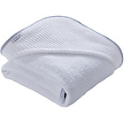 more details on Clair de Lune Waffle Hooded Towel - White.