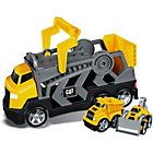 more details on Mega Bloks CAT Construction Rig.