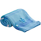 more details on Clair de Lune Pick n Mix Blanket - Blue.