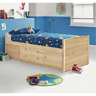 more details on Tilly 2 Drawer Pine Cabin Bed with Ashley Mattress.