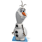 more details on Disney Frozen Card Cut Out - Olaf.