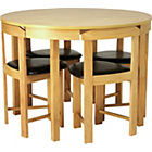 more details on Hygena Alena Oak Circular Dining Table and 4 Chairs.