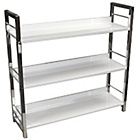 more details on 3 Tier Multi Purpose Shelving Unit - White.