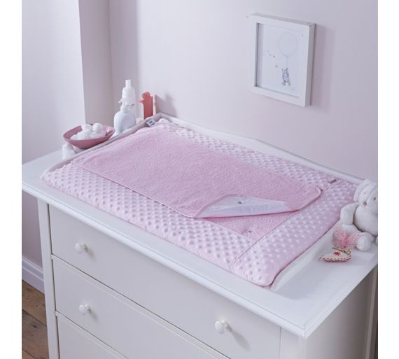 buy clair de lune dimple changing mat pink at. Black Bedroom Furniture Sets. Home Design Ideas