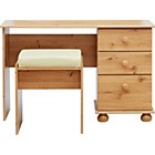 more details on New Stirling Dressing Table and Stool - Pine Effect.