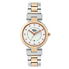 more details on Tabitha Webb Ladies' Round Quartz Two Tone Bracelet Watch.